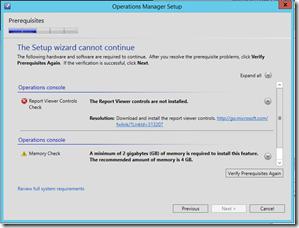 SCOM 2012 R2 – SQL Server 2014 / Report Viewer 2014 Support